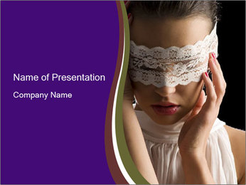 Baroque Woman Modèles des présentations  PowerPoint