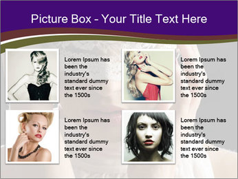 Baroque Woman PowerPoint Templates - Slide 14