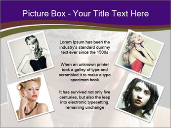 Baroque Woman PowerPoint Templates - Slide 24