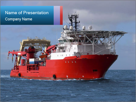 Marine Boat PowerPoint Template