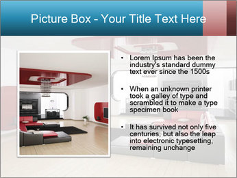 LCD TV In Living Room PowerPoint Template - Slide 13