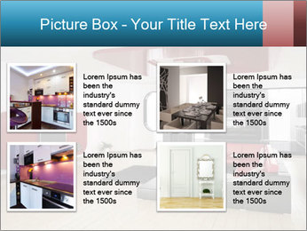 LCD TV In Living Room PowerPoint Template - Slide 14
