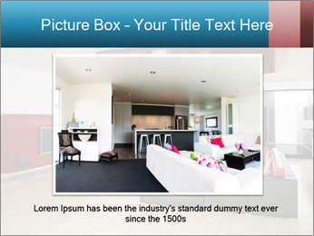 LCD TV In Living Room PowerPoint Template - Slide 16