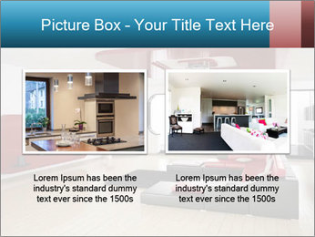LCD TV In Living Room PowerPoint Template - Slide 18