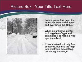 Blizzard in Washington PowerPoint Template - Slide 13