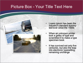 Blizzard in Washington PowerPoint Template - Slide 20