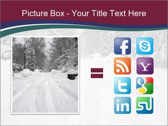 Blizzard in Washington PowerPoint Template - Slide 21