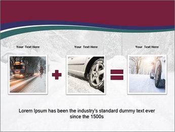 Blizzard in Washington PowerPoint Template - Slide 22