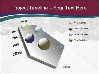 Blizzard in Washington PowerPoint Template - Slide 26