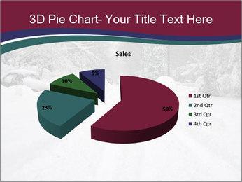 Blizzard in Washington PowerPoint Template - Slide 35