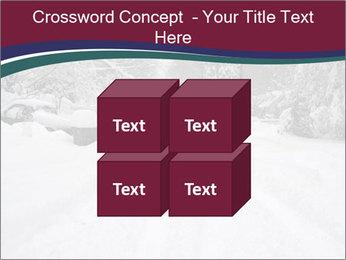 Blizzard in Washington PowerPoint Template - Slide 39