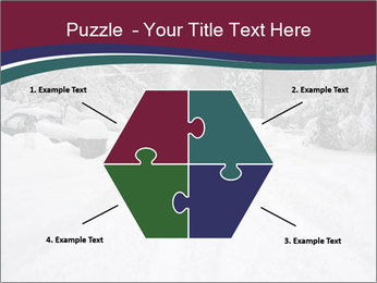 Blizzard in Washington PowerPoint Template - Slide 40