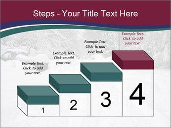 Blizzard in Washington PowerPoint Template - Slide 64