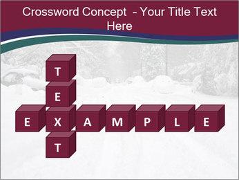 Blizzard in Washington PowerPoint Template - Slide 82