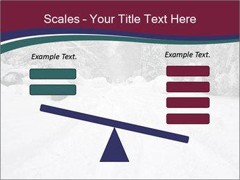 Blizzard in Washington PowerPoint Template - Slide 89