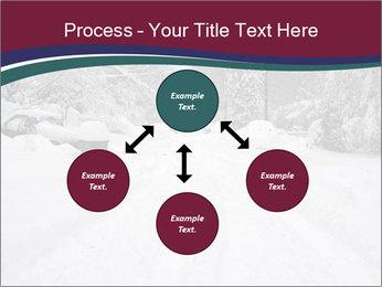 Blizzard in Washington PowerPoint Template - Slide 91