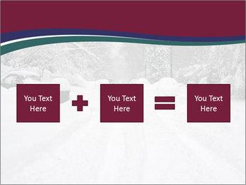 Blizzard in Washington PowerPoint Template - Slide 95