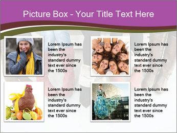 Girls boots PowerPoint Template - Slide 14