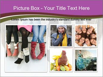 Girls boots PowerPoint Template - Slide 19