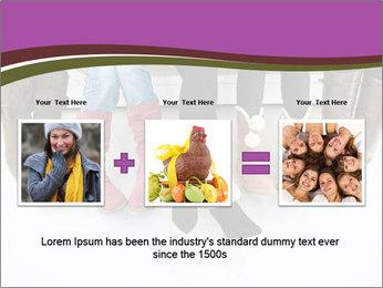 Girls boots PowerPoint Template - Slide 22