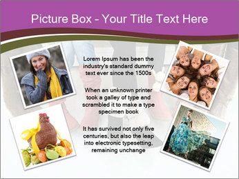 Girls boots PowerPoint Template - Slide 24