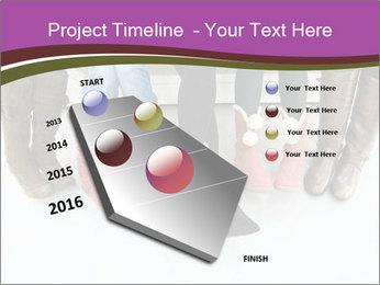 Girls boots PowerPoint Template - Slide 26