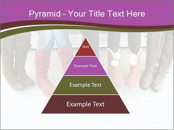 Girls boots PowerPoint Template - Slide 30