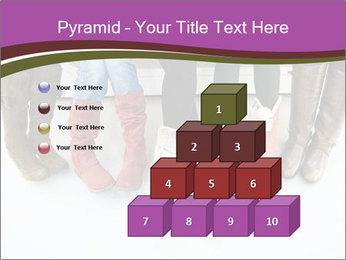Girls boots PowerPoint Template - Slide 31