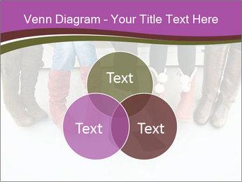 Girls boots PowerPoint Template - Slide 33