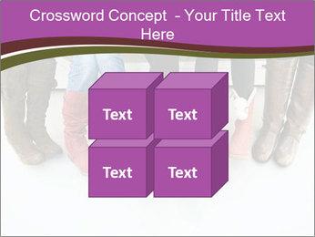 Girls boots PowerPoint Template - Slide 39