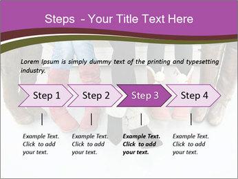 Girls boots PowerPoint Template - Slide 4