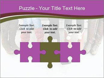 Girls boots PowerPoint Template - Slide 42