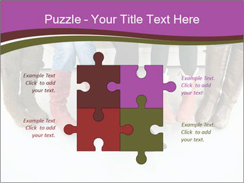 Girls boots PowerPoint Template - Slide 43