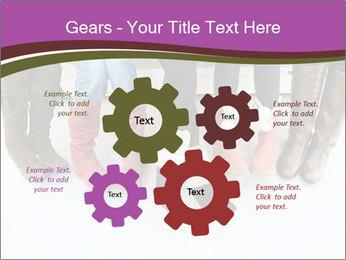 Girls boots PowerPoint Template - Slide 47