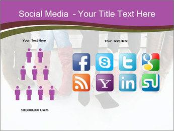 Girls boots PowerPoint Template - Slide 5