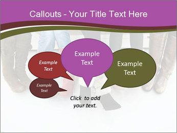 Girls boots PowerPoint Template - Slide 73