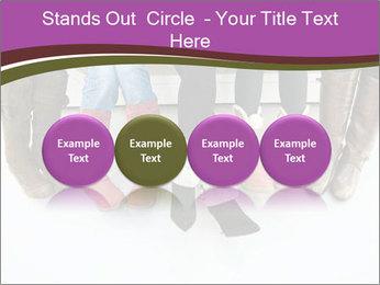 Girls boots PowerPoint Template - Slide 76