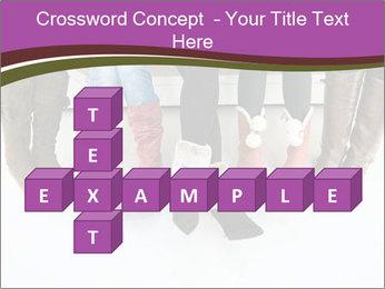 Girls boots PowerPoint Template - Slide 82