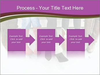 Girls boots PowerPoint Template - Slide 88