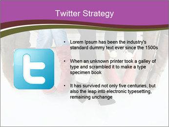 Girls boots PowerPoint Template - Slide 9