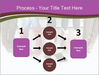 Girls boots PowerPoint Template - Slide 92