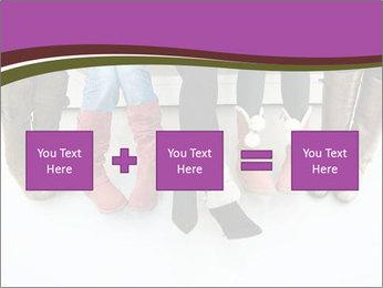 Girls boots PowerPoint Template - Slide 95