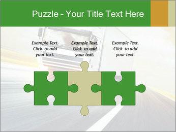 White truck PowerPoint Template - Slide 42