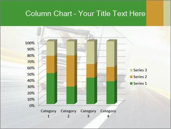 White truck PowerPoint Template - Slide 50