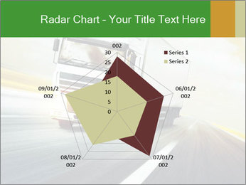 White truck PowerPoint Template - Slide 51