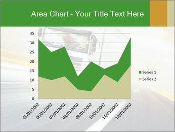 White truck PowerPoint Template - Slide 53