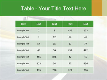 White truck PowerPoint Template - Slide 55