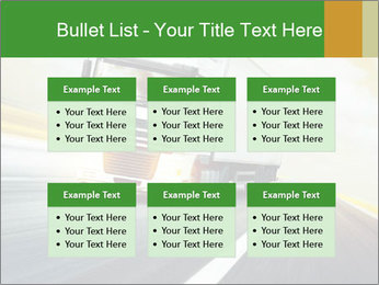 White truck PowerPoint Template - Slide 56