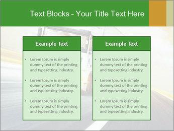 White truck PowerPoint Template - Slide 57