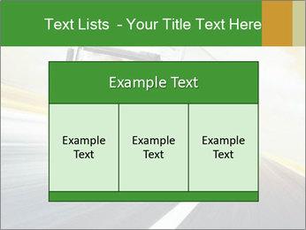 White truck PowerPoint Template - Slide 59